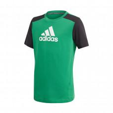 Adidas JR Badge of Sport Logo marškinėliai