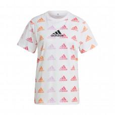 Adidas WMNS Essentials Gradient Logo marškinėliai