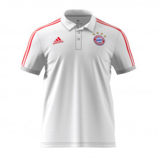 Adidas Bayern Munich 3-Stripes Polo
