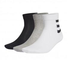 Adidas 3-Stripes Ankle 3Pak kojinės