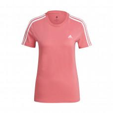 Adidas WMNS Essential 3-Stripes Slim marškinėliai