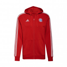 Adidas Bayern Munich 3-Stripes Fullzip džemperis