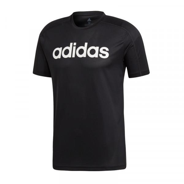 Adidas D2M Climacool Logo Tee