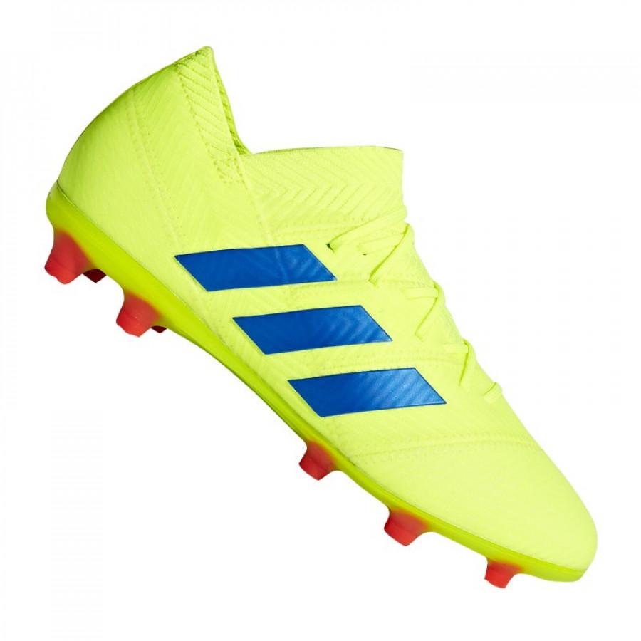 18 Socc Fg Adidas Kids' Nemeziz Junior 1 E2De9YWHI