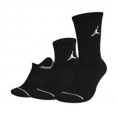 Nike Jordan Waterfall Socks 3Pak