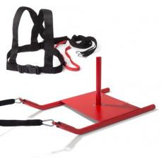 Jėgos rogės - sprinto treniruotė su greito atleidimo funkcija