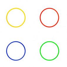 Koordnacinis žiedas 40 cm