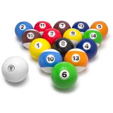 Football billiard balls