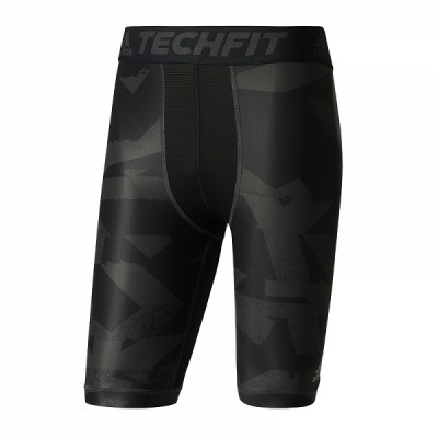 adidas Techfit Chill Print šortai
