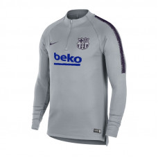 NIKE FC BARCELONA DRY SQUAD DRIL TOP bliuzonas
